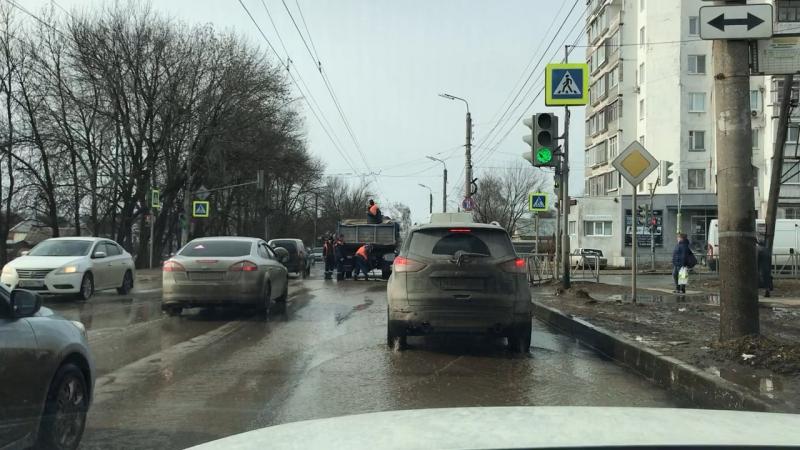 Ремонт дорог по Рязанским технологиям