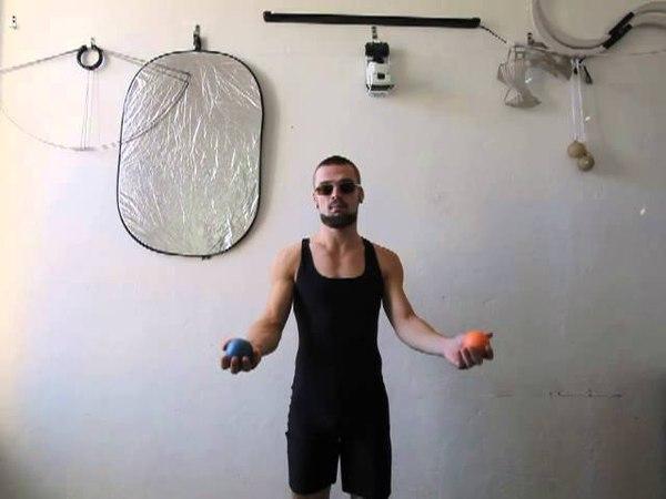 34. Обратный мультиплекс 2М (видео уроки по жонглированию от ПГ)