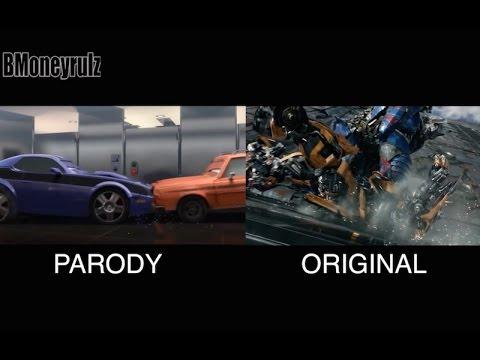 Disney/Pixar's 'Transformers: The Last Knight': Side-By-Side w/ Original Trailer