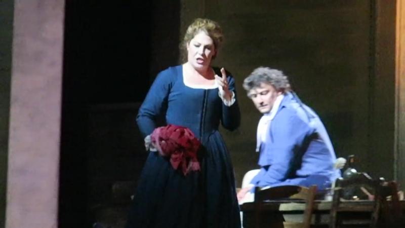 Andrea Chenier, Duetto Atto II. Jonas Kauffmann, Sondra Radvanovsky