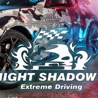 Логотип NIGHT SHADOWS (Street Racing Club Tula)