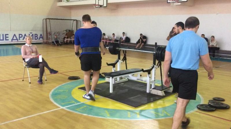 Клевцов Иван 195 кг