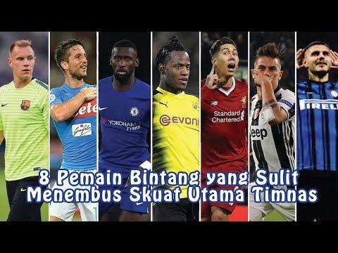 8 Pemain Bintang yang Sulit Menembus Skuat Utama Timnas