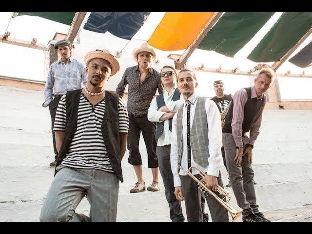The VYO reggae band from Ukraine