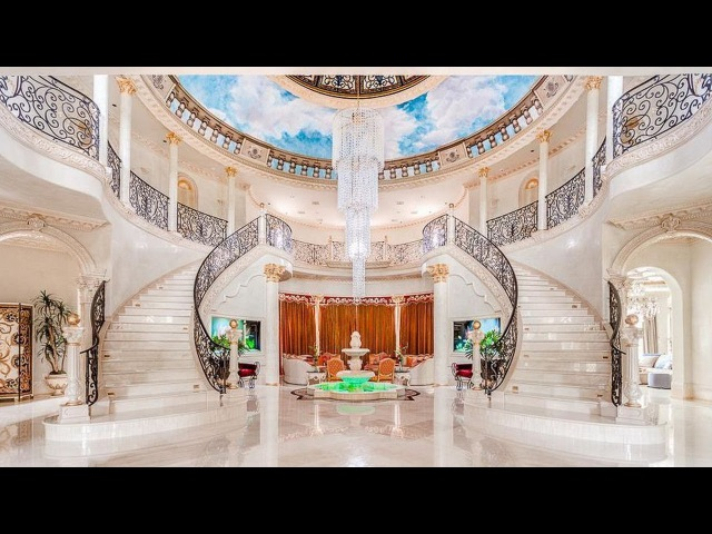 The Crown Jewel of Palm Royale | Majestic Venetian Style Luxury Mansion in Texas