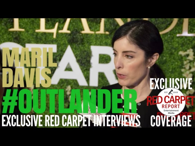 Maril Davis interviewed at Outlander on Starz OutlanderFYC Event in Hollywood