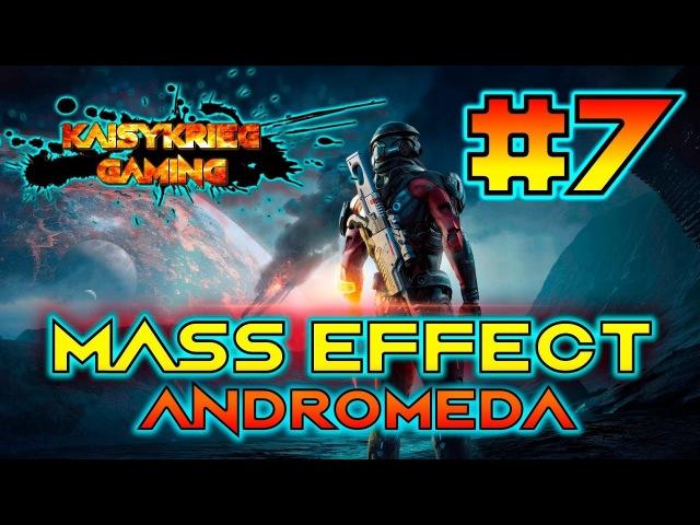 Mass Effect: Andromeda -прохождение! Серия 7 [Вход в гигантское, подземное, инопланетное сооружение]