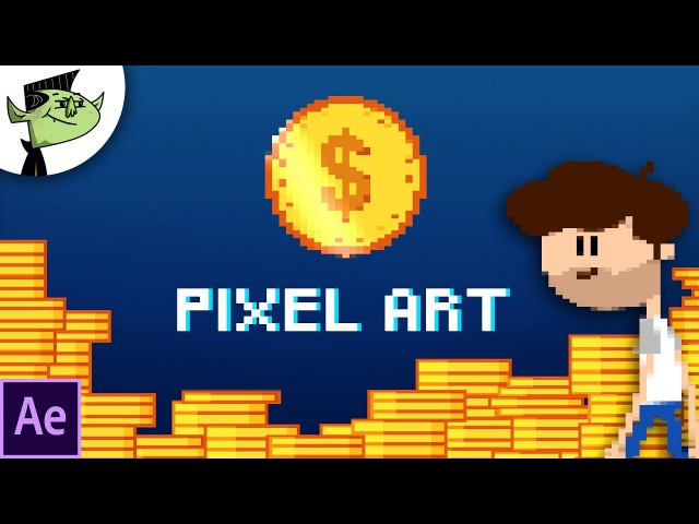 Create Pixel Art Animation Easy in After Effects - Tutorial