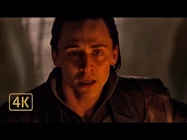 Я проклят? Один рассказывает правду Локи о его происхождении. Тор (2011) 4K ULTRA HD