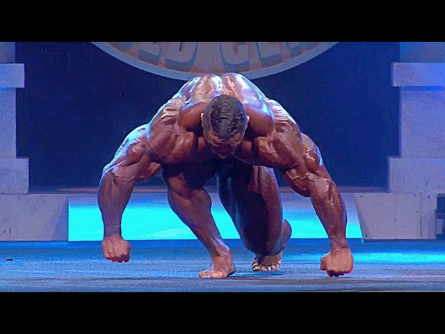 ROELLY WINKLAAR POSING ROUTINE - ARNOLD CLASSIC 2018
