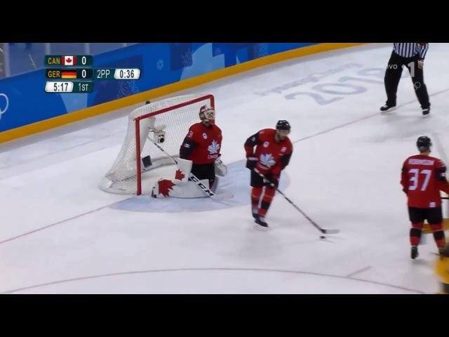 Kanada vs Nemecko 3:4 - zostrih / HIGHLIGHTS / ZOH 2018