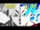 Evolution of Dragon Ball Games 1986 2018