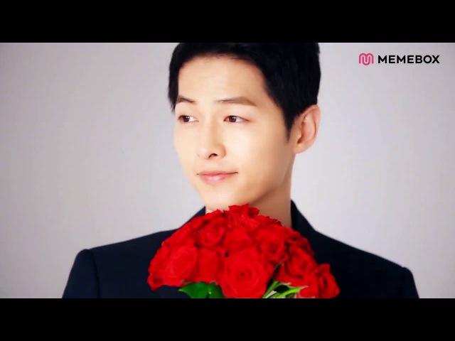 [VIDEO] 160630 Song Joong Ki - MEMEBOX CF BTS