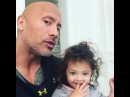 """@therock on Instagram: """"Girl power. To every woman out there 'round the world - all ages and races - I proudly stand by your side to always honor,..."""