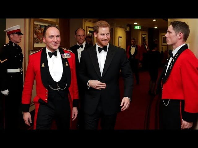 Prince Harry Arrives At Mountbatten Festival Of Music Royal Albert Hall 2018