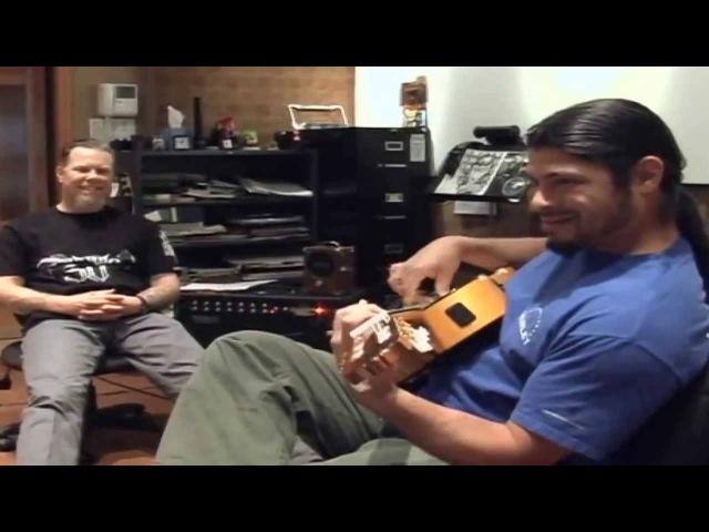 Robert Trujillo threatens Kirk Hammett ( Flamingo )