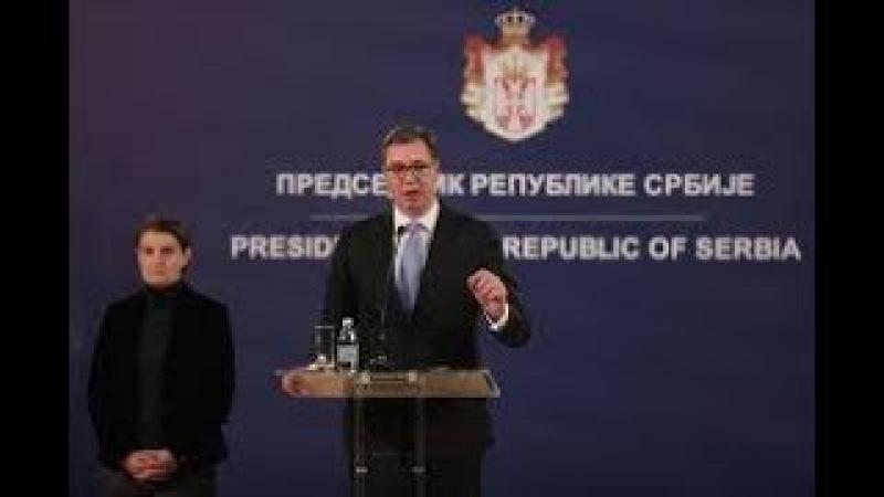 Obraćanje predsednika Aleksandra Vučića nakon ubistva Olivera Ivanovića