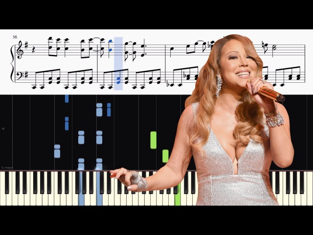 Mariah Carey - All I Want For Christmas Is You - ADVANCED Piano Tutorial