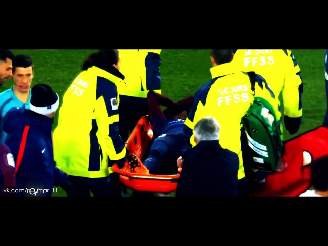 Neymar's Injured against Marseille