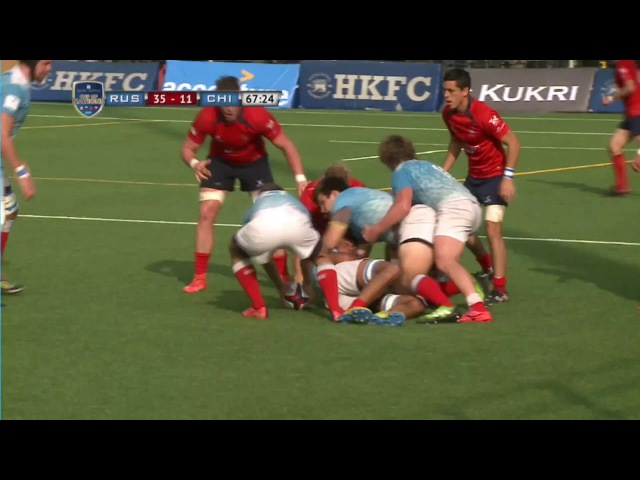 Hong Kong Cup of Nations Russia vs Chile highlights
