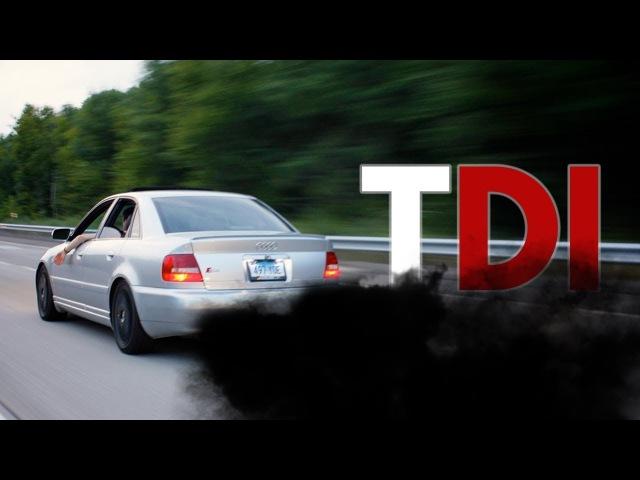 Crazy Smoking TDI Diesel Engines (TDI Power)