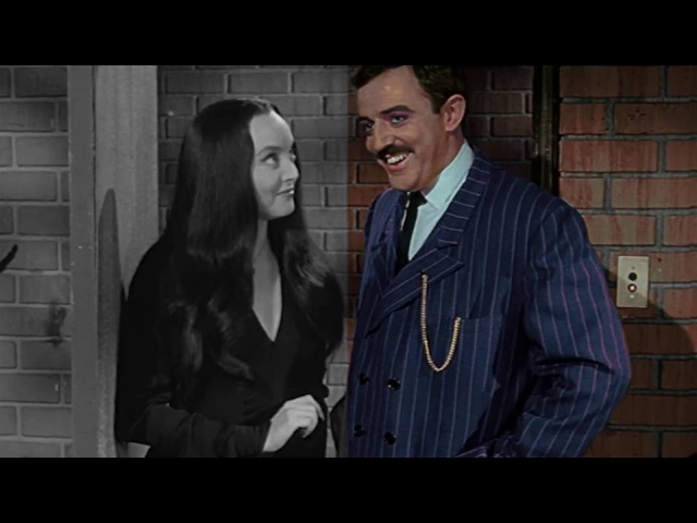 The Addams Family - Colorization Demo - POP-COLORTURE.com