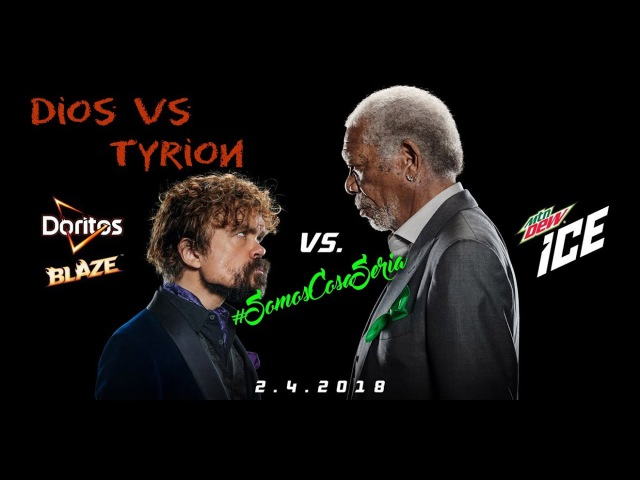 Morgan Freeman vs Peter Dinklage (Doritos vs Mountain Dew)