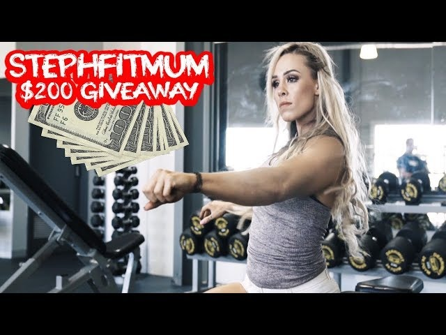 STEPHFITMUM | Stephanie Sanzo Upper Body | Primeval Labs $200 Giveaway