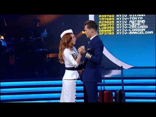 Олександр Скічко та Анна Паламарчук - Сальса - Танці з зірками