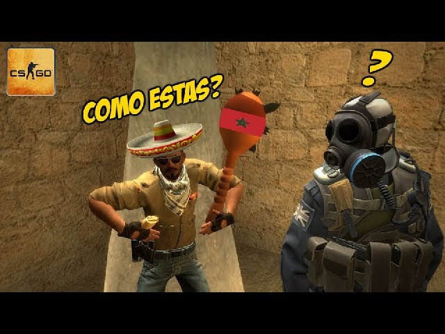 The Mild Mannered Moroccan | CS:GO Funny Moments