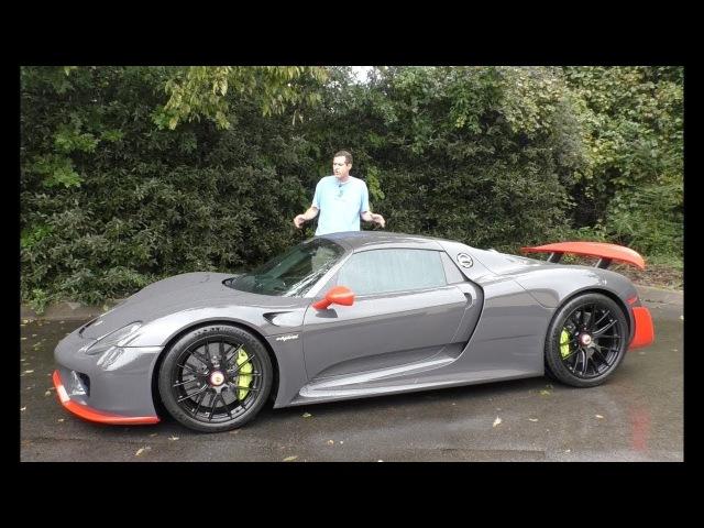 Вот почему Porsche 918 Spyder стоит $1 7 миллиона