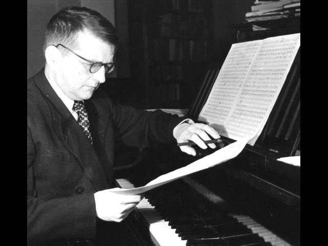 Shostakovich 2 Pieces By D. Scarlatti Op.17 - 1. Pastorale