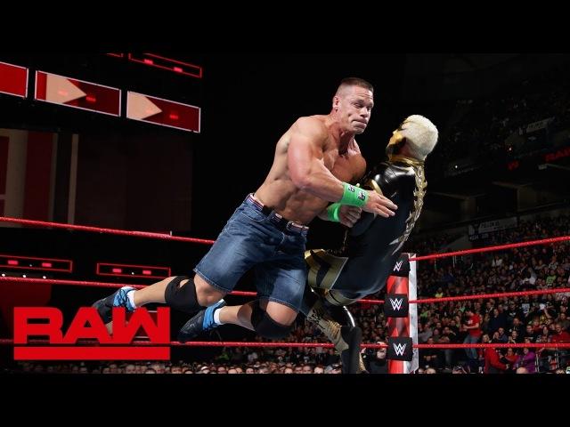 John Cena vs Goldust Raw March 5 2018