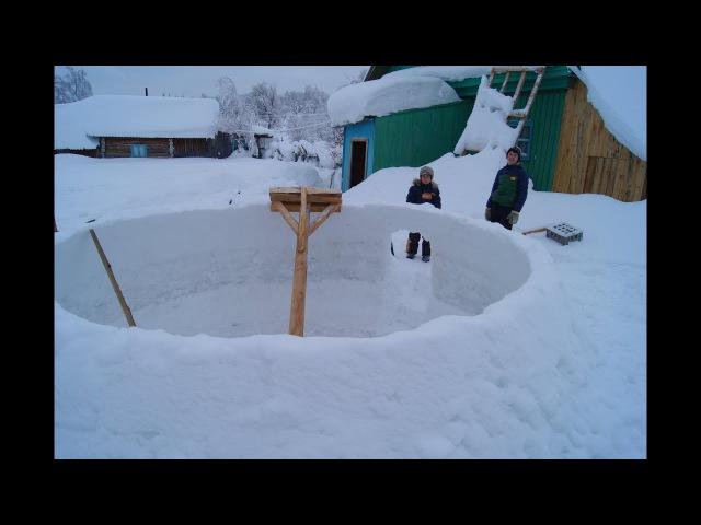 Новый способ строительства купольного дома с помощью сферической передвижной опалубки