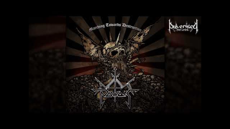 AXIS POWERS Marching Towards Destruction Full length Album Old School Death Metal