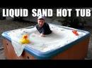 Liquid Sand Hot Tub- Fluidized air bed