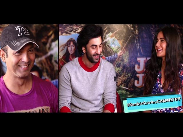 Ranbir Kapoor Katrina Kaif's CHEMISTRY Is MINDBLOWING In This Interview Teaser  Jagga Jasoos