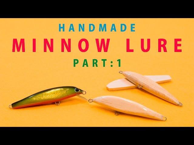HANDMADE MINNOW LURE Part1 / バルサ材で自作するハンドメイドミノー 第一章