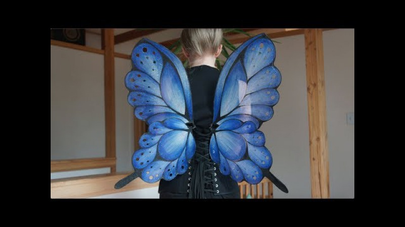 Blue Fairy Wings Timelapse