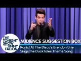 Panic! At The Discos Brendon Urie Sings the DuckTales Theme Song
