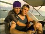 Backstreet Boys Nick Carter &amp Aaron Carter Interview On Boat - YouTube