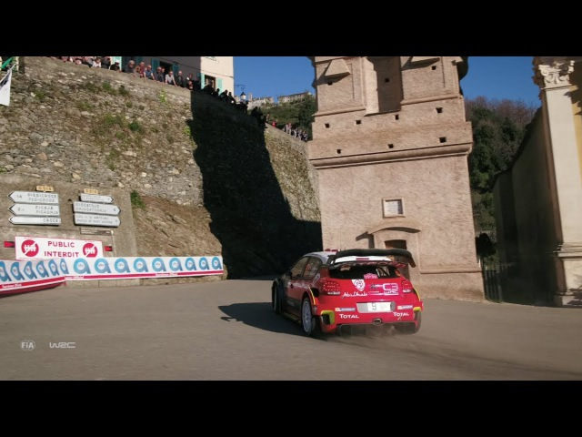 WRC 2017 - 04 Che Guevara Energy Drink Tour de Corse, DJI aerial clip