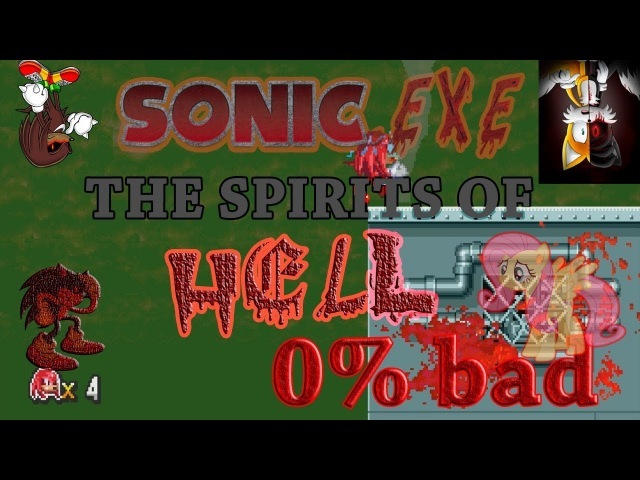 CreepyPasta - Sonic.EXE: The Spirits of HELL demo - 3 - no-end - Tais and Knuckles Alive!