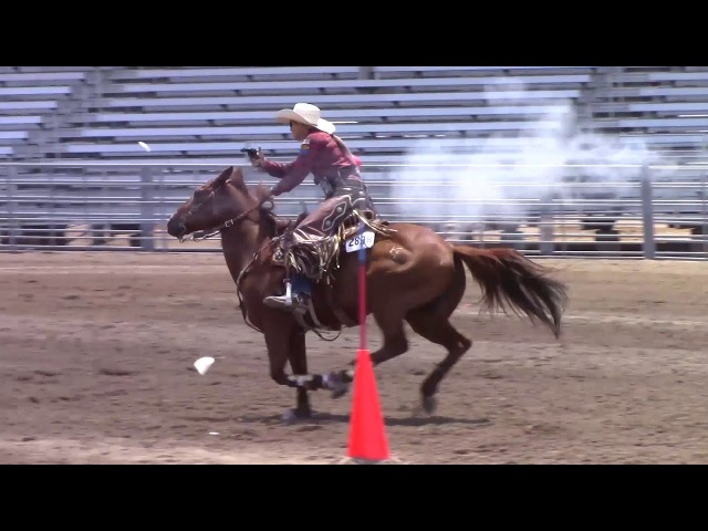 Kenda Lenseigne 2017 World Champion Cowgirl Mounted Shooter