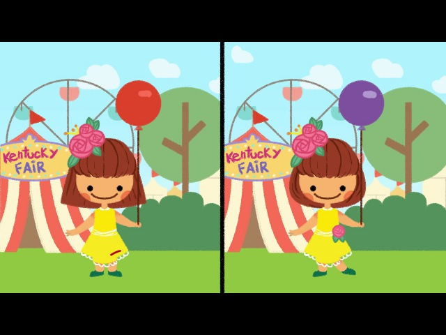 We're Going to Kentucky Toddler Song Spot the Differences The Kiboomers