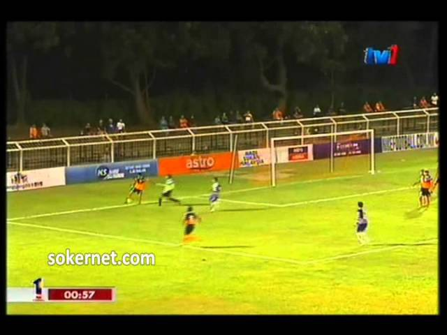 Johor FC 1-1 Felda United   Liga Super 2012