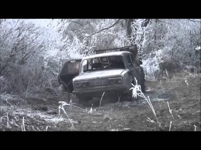 18 Брошенные трупы солдат ВСУ и разбитая техника под Дебальцево