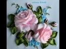 как вышивать лентами,розы,ромашки и многое другое.