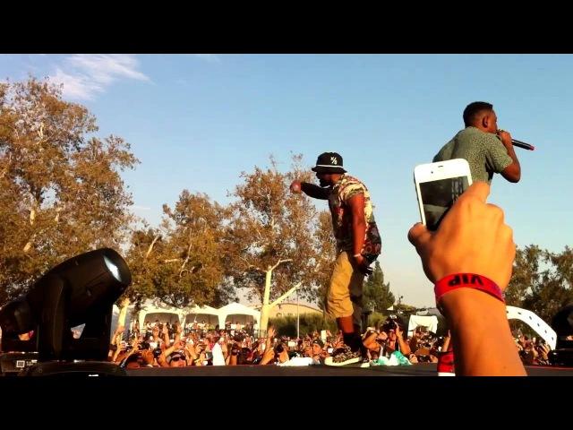 Black Hippy @ Rock The Bells, San Bernardino