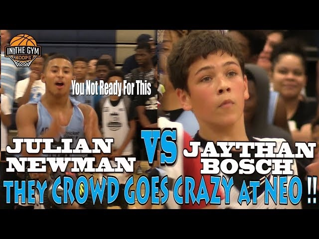 COLD Kid from NH Jaythan Bosch Challenges CLEVER PG Julian Newman Shuts Down NEO